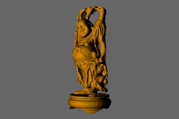Own raytracer 3D model rendering